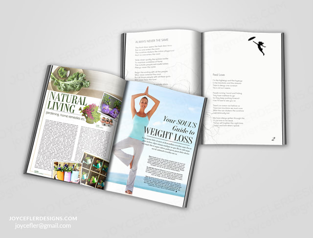 BOOK and Magazine LAYOUT